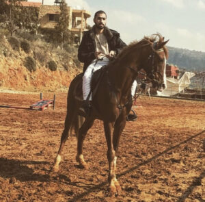 Mbm image during a horse riding